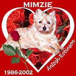In Memory of Mimzie